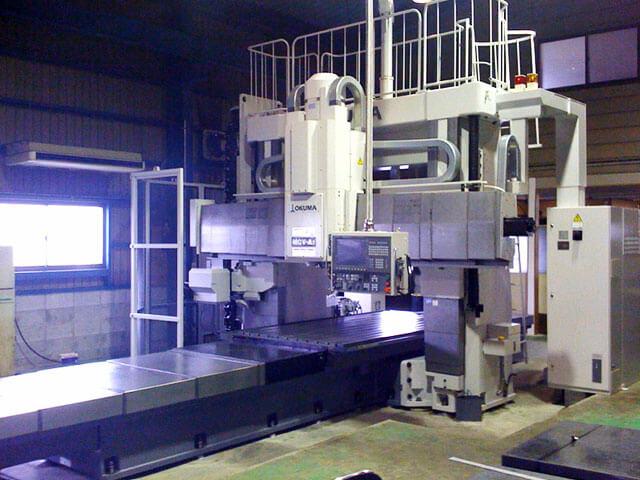 オークマ(株) 門型マシニングセンターMCV-AⅡ1500X3100