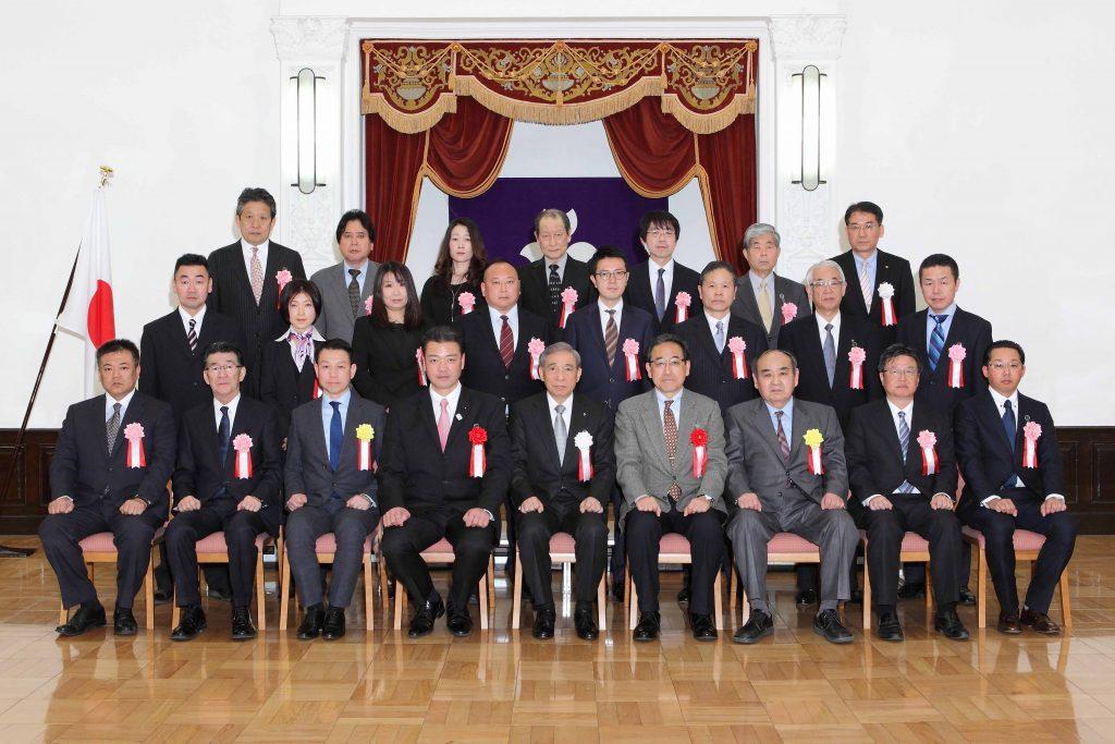 平成28年度群馬県優良企業表彰受賞
